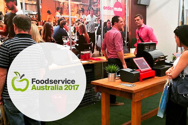 OrderMate team at Foodservice Australia 2017