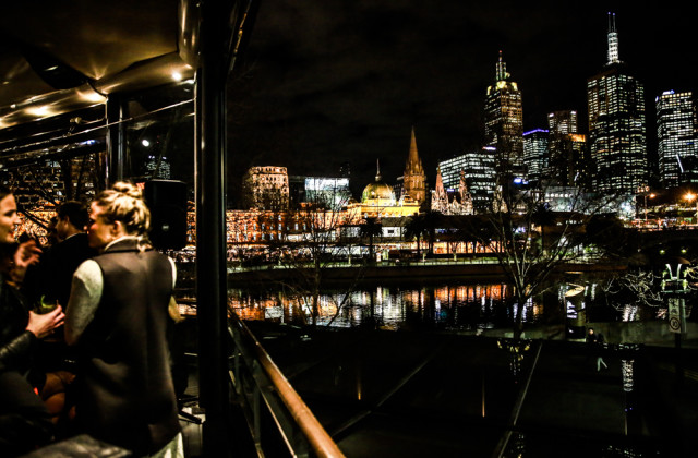 Melbourne's Southgate Waterslide