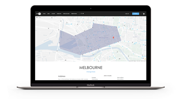 OrderMate Online Melbourne delivery zones