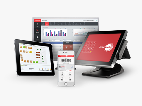 Multiple devices using the OrderMate POS