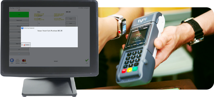 Tyro and OrderMate POS
