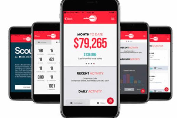 ordermate control center app screens